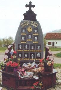 Spomenik u Vranjaku