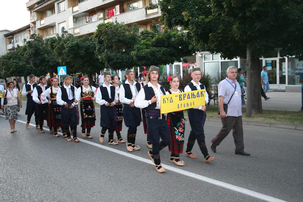 Defile KUD-a Vranjak kroz Modriču u povodu Dana opštine - Vidovdana