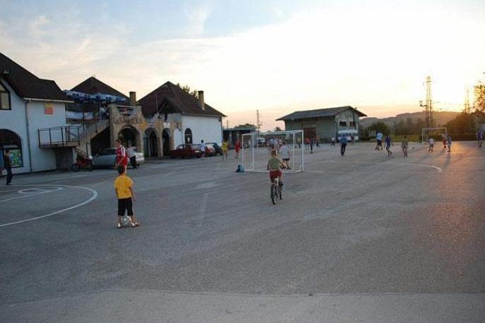 Poligon za mali fudbal kod Željezničke stanice
